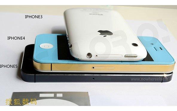Neues iPhone im direkten Vergleich mit iPhone 4 und 3GS
