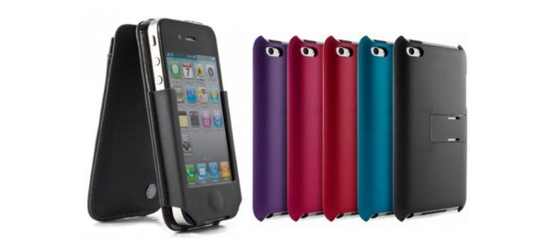 iPod Hardcase und iPhone Flip-Hülle mit 20 % Gutschein bei Proporta