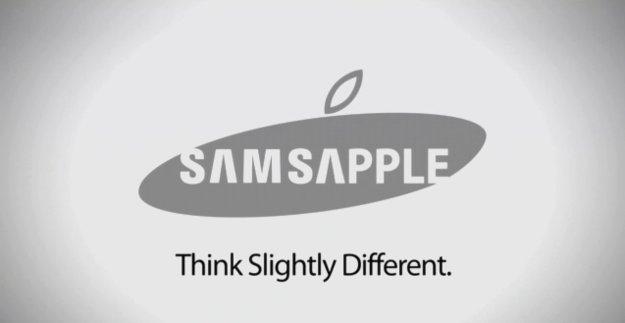 Parodie: Samsapple - think slightly different