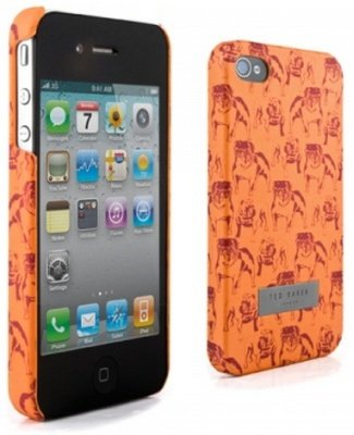 Ted Baker iPhone 4S Hardcase Bulldoggen in Orange