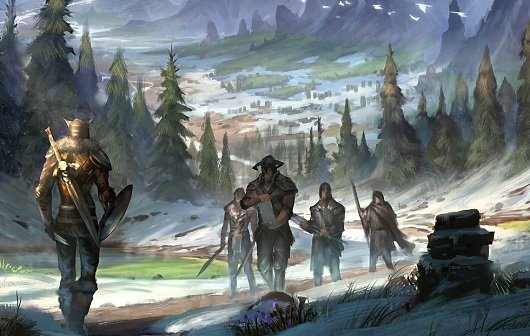 The Elder Scrolls Online: Neue Concept Arts und Wallpaper