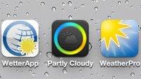 WetterApp, Partly Cloudy, WeatherPro: Neues von der Wetter-Front