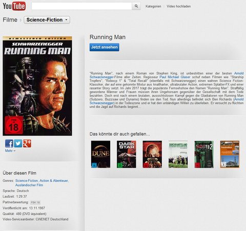 Youtube Filme