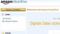 Amazon Cloud Drive in Deutschland: 5 GB Speicherplatz kostenlos - so geht's