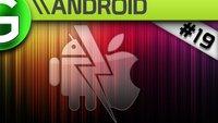 Android vs Apple: Galaxy Updates, Google Movie, Jailbreak und iPhone5