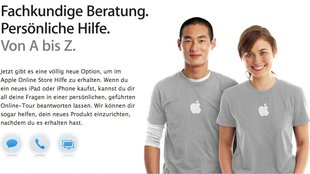 Apple Online Store: Neue Chat- und Screencast-Funktion