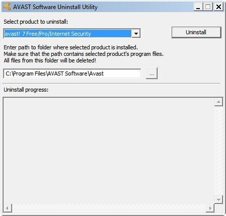 Ein spezielles Tool kann Avast restlos deinstallieren