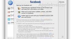 Mountain Lion 10.8.2: Erste Bilder von Facebook-Integration