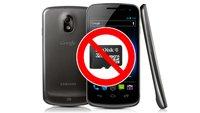 Warum Nexus-Geräte keinen SD-Steckplatz haben