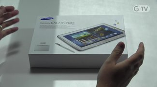 Samsung Galaxy Note 10.1: Unser Unboxing