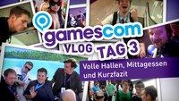 gamescom Vlog - Tag 3: Volle Hallen, Mittagessen und Kurzfazit