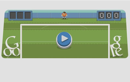 Interaktive Olympia-Google-Doodles: Jeden Tag neue Disziplinen