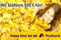 100 Euro Startguthaben für die Eröffnung des Postbank Girokontos