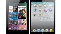 iPad mini: Äußeres Design wie ein großer iPod touch