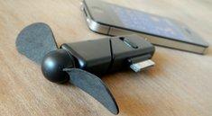 iPhone-Ventilator: Schirmmützen mit Propeller sind jetzt out.