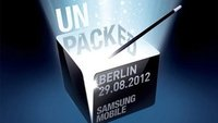 Samsung Mobile Unpacked 2012 IFA Event am 29.8.