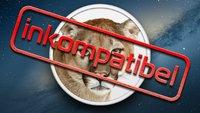 OS X 10.8 Mountain Lion: 5 Apps, die (noch) nicht kompatibel sind