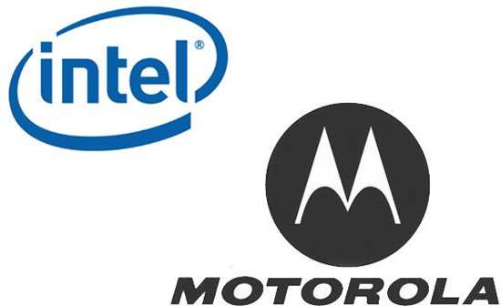 Motorola und Intel in Love