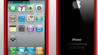 iPhone 4(S): Apple soll roten Bumper planen (Update)