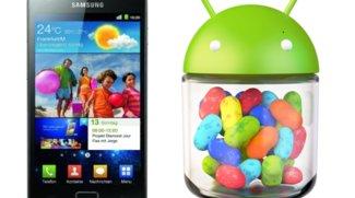 Samsung Galaxy S2 - Update auf Jelly Bean verspätet sich