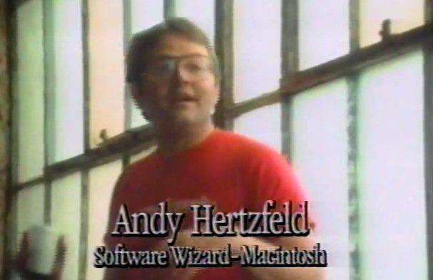 Andy Hertzfeld veröffentlicht Macintosh-PR-Video aus dem Jahr 1983