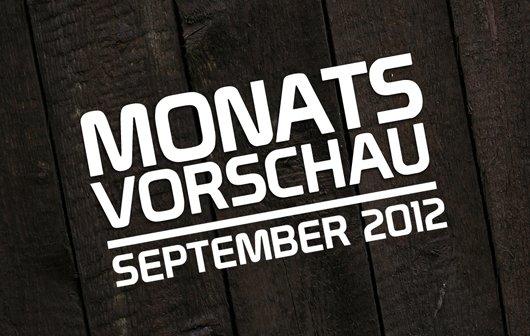 Monatsvorschau - September 2012