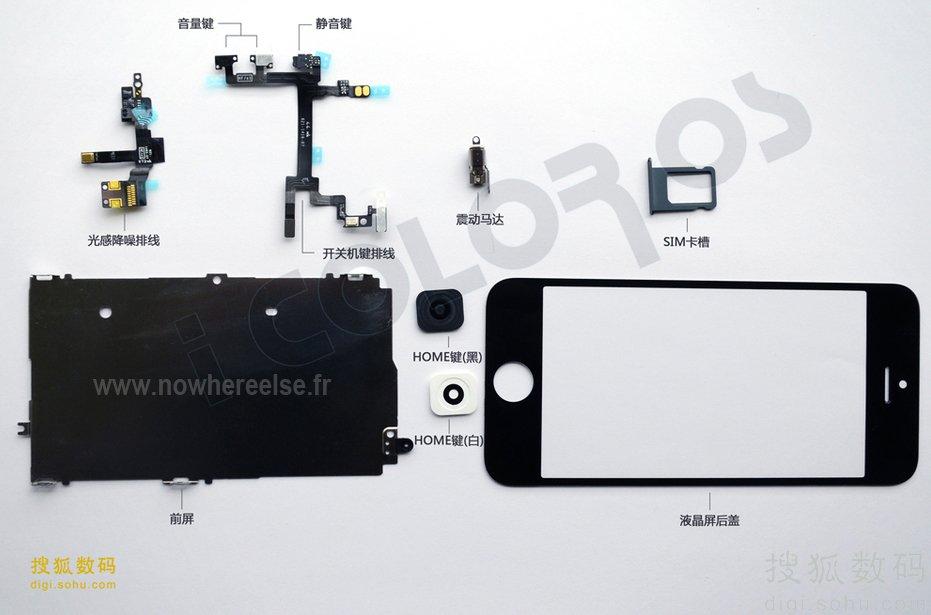 """Neues iPhone: Bilder von Akku, Einzelteilen und """"längerer"""" Benutzeroebrfläche"""