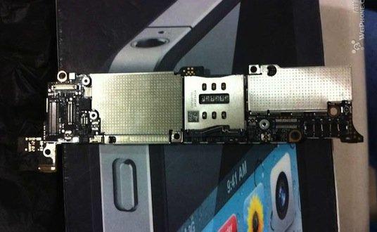 Neues iPhone: Erste Bilder vom Logic Board