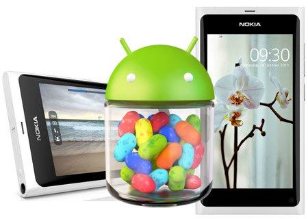 Das Nokia N9 mag Jelly Bean