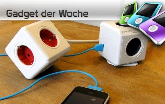 allocacoc Power Cube: Strom im Quadrat für iPhone und Co