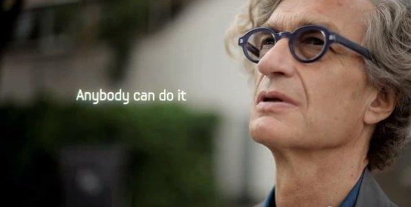 Samsung Galaxy Note 2 und Wim Wenders im Teaser