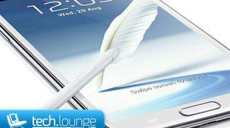 Samsung Galaxy Note 2 - schneller, schärfer, größer, dünner, besser