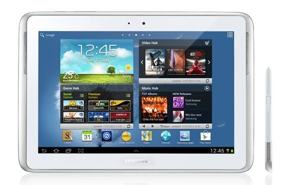 Samsung Galaxy Note 10.1 bekommt Update auf Android 4.1