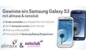 Samsung Galaxy S3 Gewinnspiel