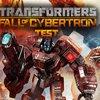 Transformers: Untergang von Cybertron Test