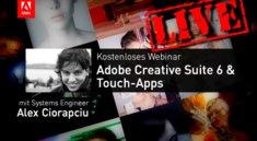 Gleich live: Adobe Webinar bei GIGA
