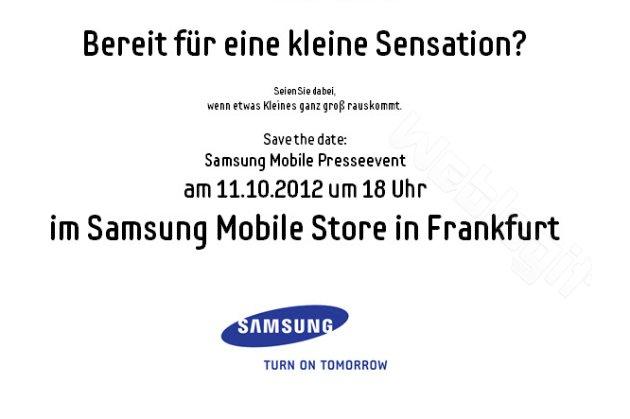 Samsung Event Frankfurt