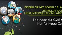 Google Play: Apps für 25 Cent - Tag 1