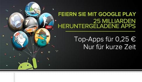 Google Play: Apps für 25 Cent – Tag 2