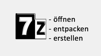 7z-Datei öffnen, entpacken und erstellen (7-Zip Archiv)