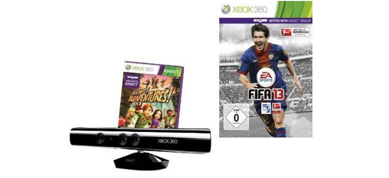 Kinect für Xbox 360 und FIFA 13 bei Amazon mit 20 Euro Rabatt
