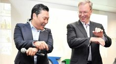 Googles Ex-CEO Eric Schmidt: Gangnam Style