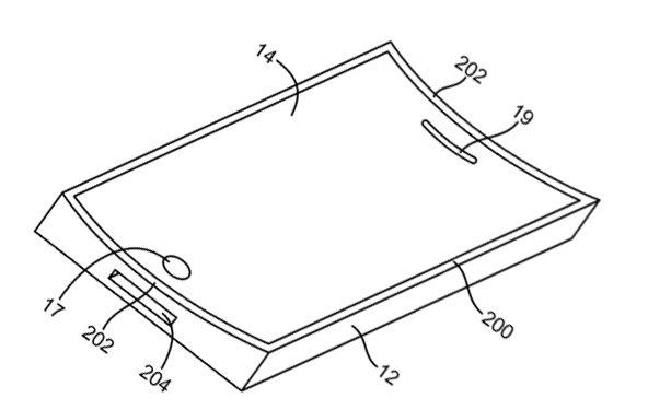 Patentantrag: Flexible Displays für künftige Multitouch-Geräte