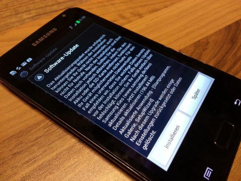 Samsung Galaxy Note bekommt Galaxy S3-Flair