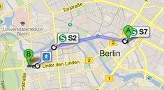 iOS 6: Google Maps als Routenplaner in Apples Karten-App