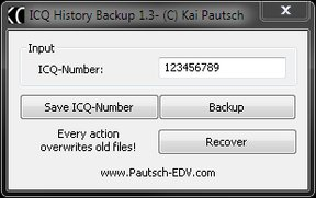 ICQ History Backup Download