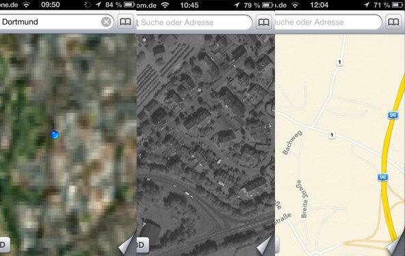iOS 6: Apples neue Karten-Applikation in der Kritik (Update)
