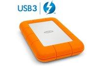 LaCie Rugged: Jetzt mit USB 3.0 und Thunderbolt