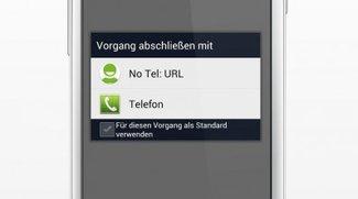 Samsung: USSD Sicherheitslücke mit noTelURL vorläufig schließen