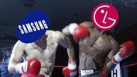 LG vs. Samsung: Klage gegen OLED-Displays